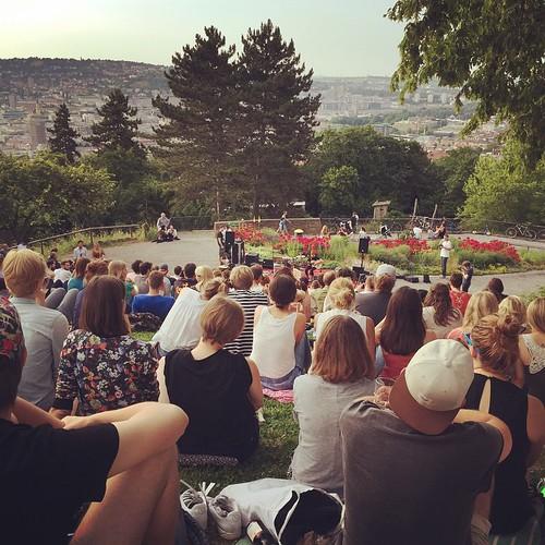 #Bergkonzert #2 @ #Teehaus im #Weißenburgpark #0711 #Stuttgart
