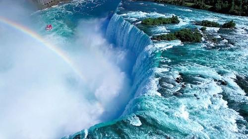 niagara canadacountry dron canadianfalls dronevideo djiphantom3 ontariocanadianprovince uavfootage uavvideo horseshoefallswaterfall