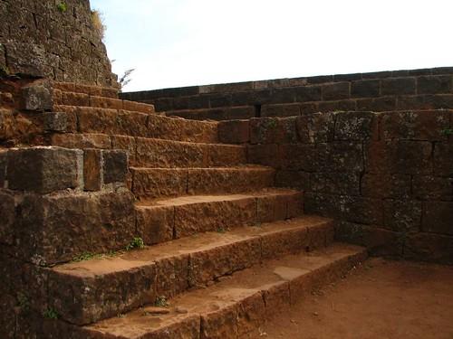Panhala Fort Steps