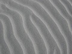 Australian sand abstract pattern