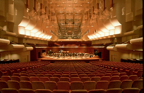 Davies Symphony Hall in San Francisco underwent a major acoustic tune-up in 2000.