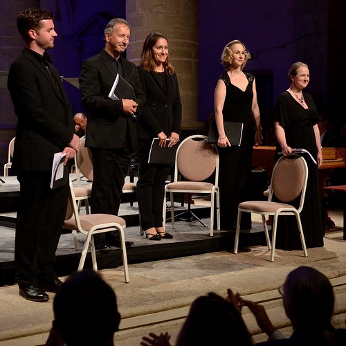 Madrigaux de Monteverdi avec Les Arts Florissants et Paul Agnew au Festival d'Ambronay.