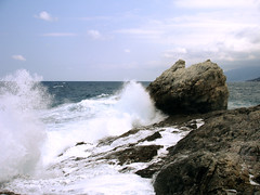 Ikaria 007 (isl_gr (Mnesterophonia)) Tags: winter rock ikaria replacement wave blogged  armenistis strefonion  valaoritis