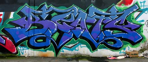 beats california sanfrancisco graffiti (Photo: funkandjazz on Flickr)
