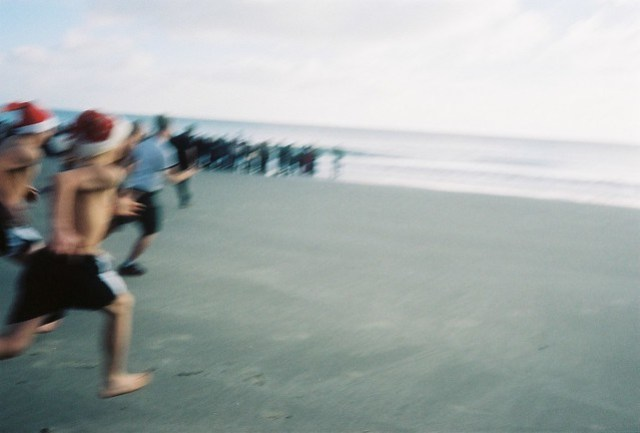 boxing day swim - the charge
