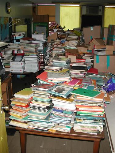 Displaced Books