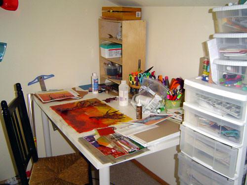 collage desk