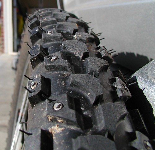 Nashbar studded tire