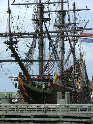 Batavia Ship in Lelystad Netherlands