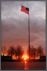 Ellis Island, Sunset