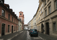 Litomerice in the morning