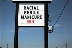 Racial Penile Manicure