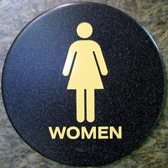 DILO - women bathroom sign