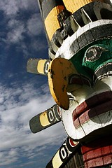 Totems - Comox Valley, British Columbia - Canada