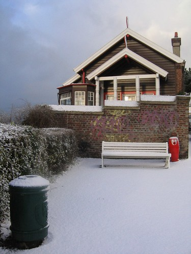 snow in sainte-adresse par *heloise*