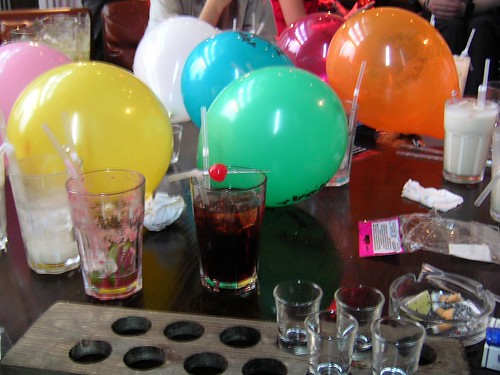 Balloons and Drinks