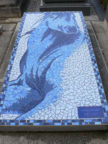 Horse Mosaic Monument Cimetiere De Passy Paris, France On Flickr U2013 Claudecf
