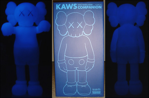 companion kaws 5yl blue