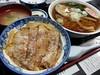 Photo:二本松・杉乃家さん。(ちっともミニじゃない)ミニカツ丼と(醤油色なのに絶妙あっさり味スープの)ラーメンのセット。なみえ焼そばだけじゃないんだ、この店で美味しいのは。特に濃いめの味付けのカツ丼は東京にはない味。 By