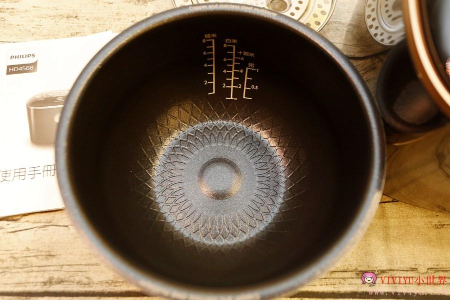 [家電]飛利浦雙向智旋IH電子鍋.雙向智旋IH加熱技術與紫銅火紋鍋煮出Q彈米飯~放入食材輕鬆煮出飄香麻油雞酒飯 @VIVIYU小世界