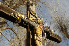 Cross Out Back- El Santuario de Chimayo