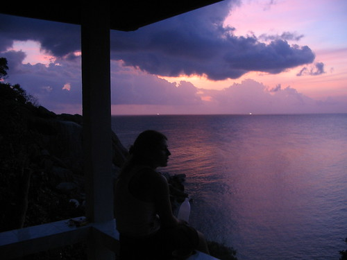 Matilde at sunset on Kao Tao