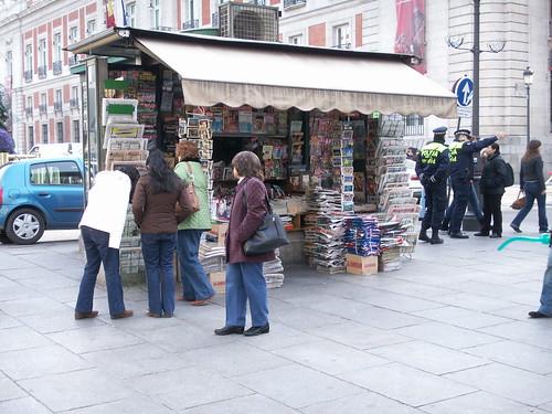 Resultado de imagen de kioscos prensa