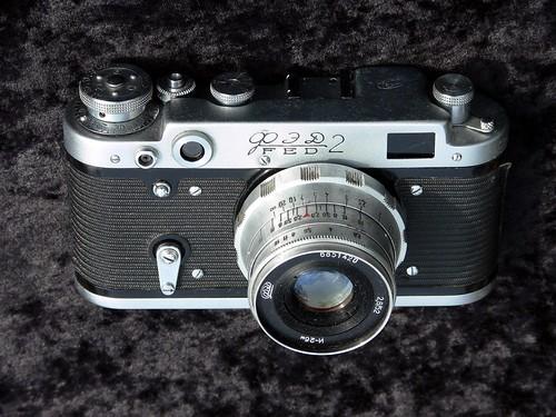 Fed 2 rangefinder camera - Jimmy Smith