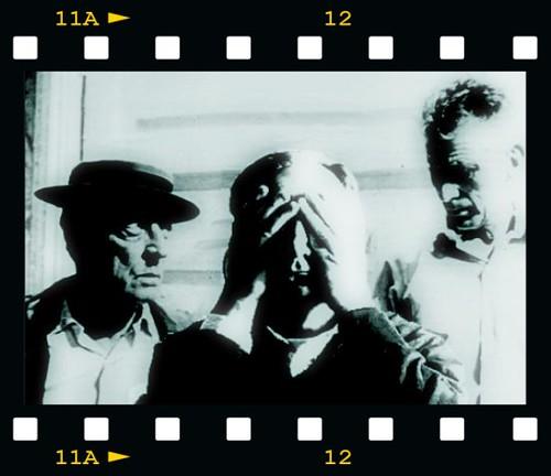 Autoritratto come in un fotogramma di FILM by hidden side.