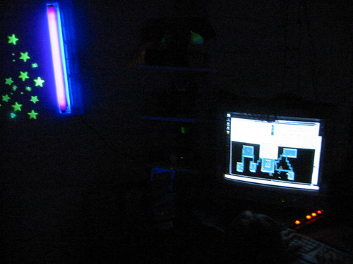 blacklights are cool .. so is nethack .. 106-0630_IMG