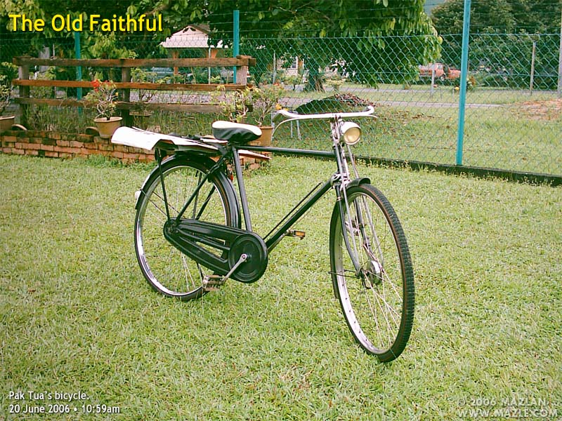 Pak Tua's Bicycle