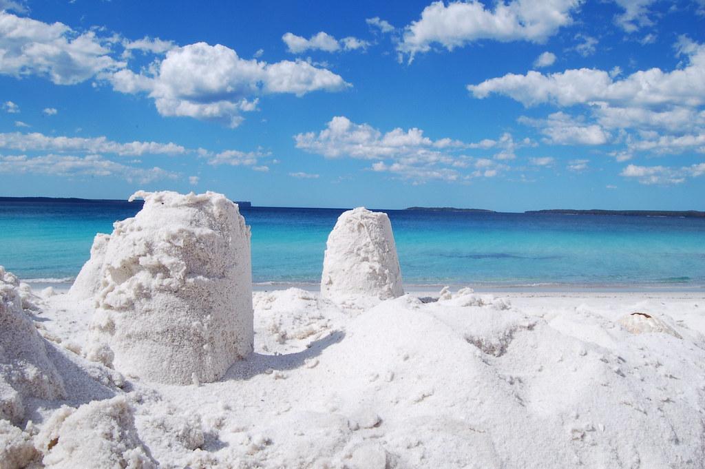 Hyams Beach, Australie : un sable blanc comme neige