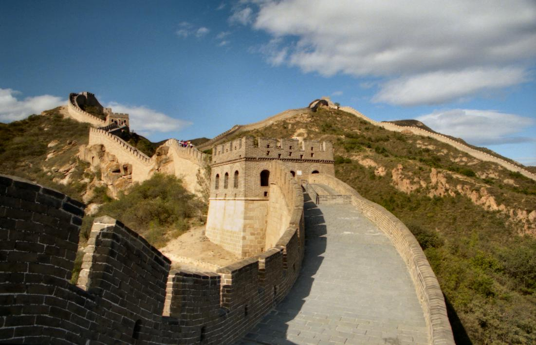 The Great Wall of China at Badaling by exfordy