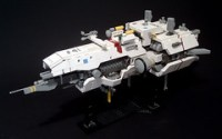 LEGO microscale Heavy Missile Cruiser Horizon