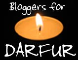 Bloggers for Darfur button by jilldoughtie