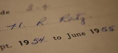 1954/1955: Progress Report