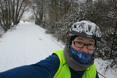 Leaving Prague on bicycle paths