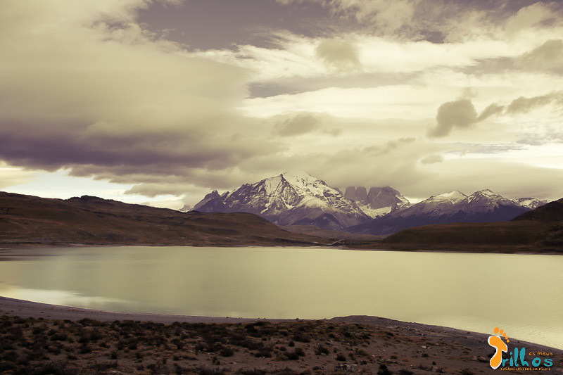 Laguna Amarga, no Parque Nacional Torres del Paine, no Chile