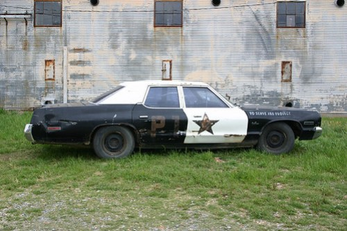 Old Police Car, Shack Up Inn, Clarksdale MS