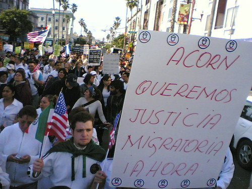 Immigrant Rights March by AndyArmstrong.