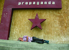 Slumber under propaganda