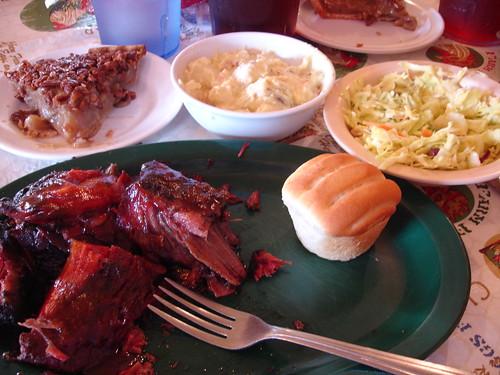 Beef Ribs at Leatha's, Hattiesburg MS