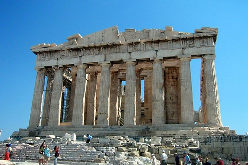 Athens, Acropolis, Parthenon. Photo from Wallyg, Flickr