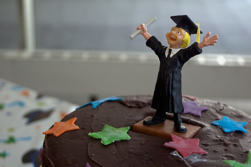 Graduation Cake Guy image by CarbonNYC.  Click image to see his entire photostream.