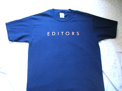 Blue Editors' shirt