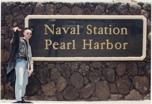 Charlie at Pearl Harbor