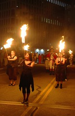 Torch and Drum Procession