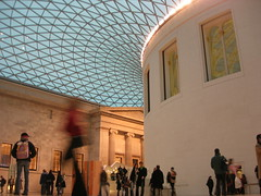 Inside the Great Court at the British Museum
