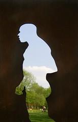 Neanderthal Silhouette