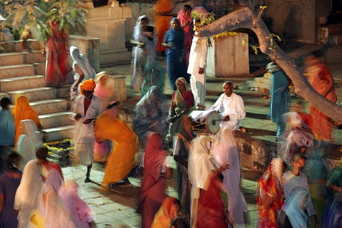 Music and dance around Kaal Bhairav